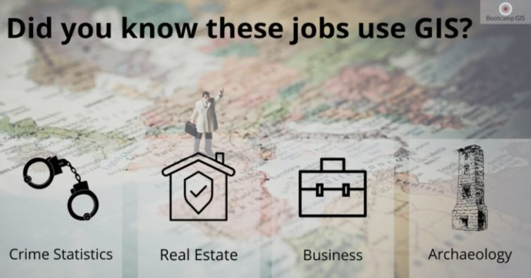 Jobs that use GIS. You'll be surprised at the variety.