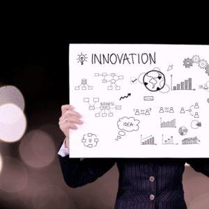 Innovation widgets on foam board