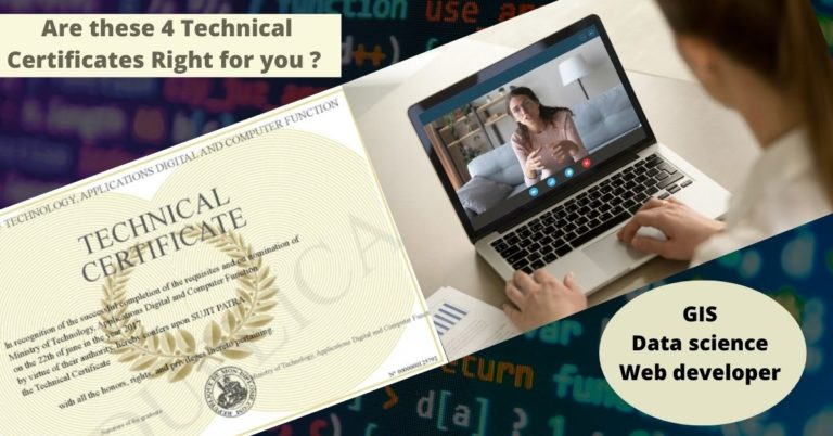 4 Marketable American technical certificates available worldwide