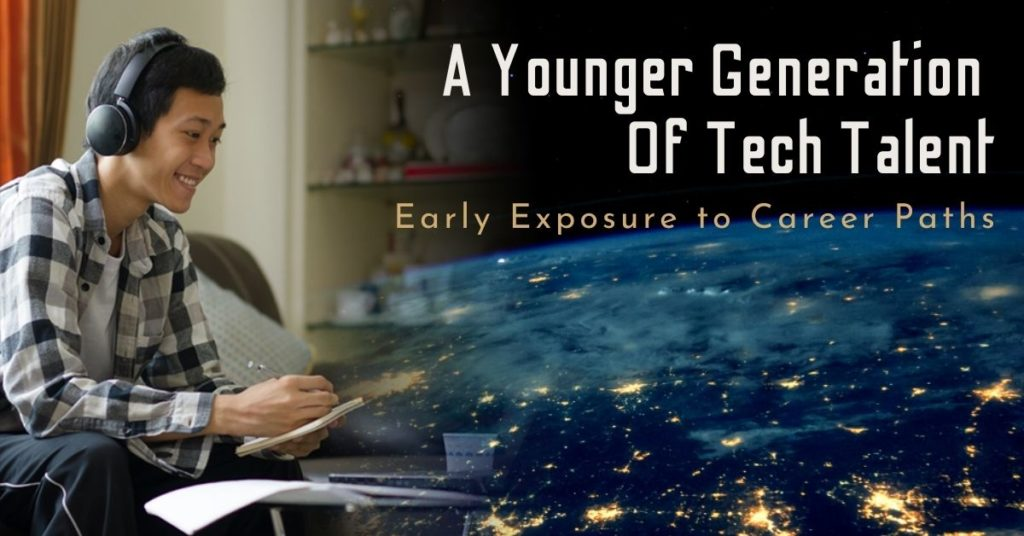 Younger generation of tech talent